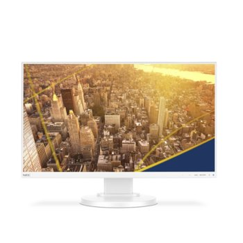 """Монитор NEC E241N (60004221), 24"""" (60.96 cm) IPS панел, Full HD, 6 ms, 250 cd/m2, DisplayPort, HDMI, VGA image"""