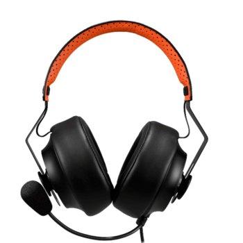 Слушалки Cougar Phontum S, микрофон, 100Hz to 10kHz честотен диапазон, 1.2 m кабел, черни image