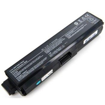 Батерия (заместител) за лаптоп Toshiba, съвместима с A660 C600 C640 C650 C660 L600 L640 L650 L670 L730 L740 L750 L770 M640 P740 P770, 10.8V, 10400mAh image