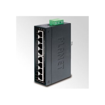 Суич Planet ISW-801T, 8x 10/100BASE-TX Ethernet ports image