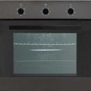 Фурна за вграждане Arielli AME-562BL, енергиен клас А, 62 л. обем, механично управление, 5 броя функции, черна image