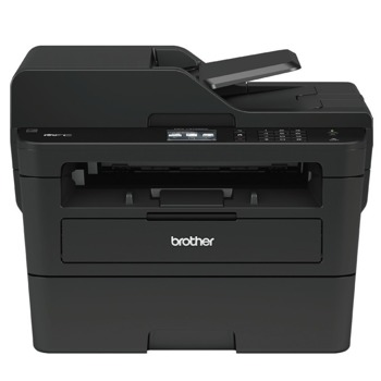 Мултифункционално лазерно устройство Brother MFCL2732DW, монохромен, принтер/копир/скенер/факс, 1200 x 1200 dpi, 34 стр/мин, LAN100, Wi-Fi, USB, A4 image