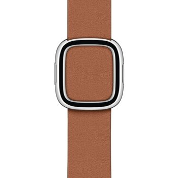 Каишка за смарт часовник Apple Watch (40mm) Saddle Brown Modern Buckle - Medium, кафява image