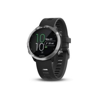 """Смарт часовник Garmin Forerunner 645/645 Music, 1.2"""" (3.4 cm) цветен дисплей, GPS, Bluetooth, Wi-Fi, до 5ч време за работа, водоустойчив, черен image"""