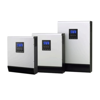 Инвертор MPS 3K PLUS, хибриден синусоиден, 3000VA/2400W, от 90–280 Vac към 230 Vac ± 5%, LCD дисплей image
