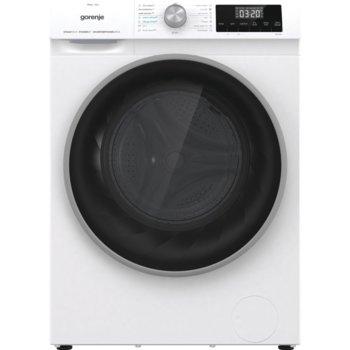 Пералня със сушилня Gorenje WD10514S, B, капацитет 10 kg на пералня / 6 kg на сушилня, 1400 rpm, 15 програми, свободностояща, 60 см ширина, LED дисплей, StartDelay отложен старт, SteamTech третиране с пара, бяла image