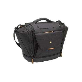 Чанта за фотоапарат Case Logic SLRC-203 за SLR фотоапарати и обективи, заздравено твърдо дъно, черна image