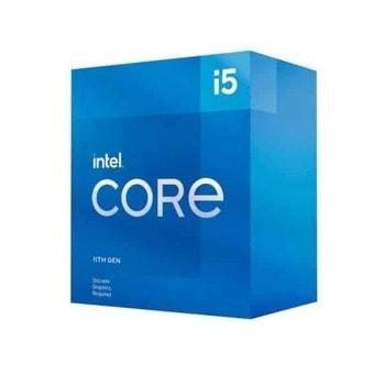 Процесор Intel Core i5-11400, шестядрен (2.6/4.4 GHz, 12MB, 1300MHz графична честота, LGA1200) Box, с охлаждане image