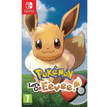 Игра за конзола Pokemon: Let's Go! Eevee, за Nintendo Switch image