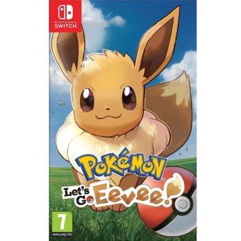 Игра за конзола Pokemon: Let's Go! Eevee, за Nintendo Switch image