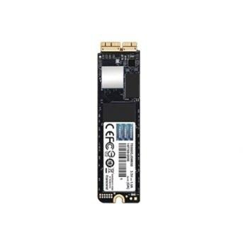Памет SSD 480GB, Transcend JetDrive 850, NVMe PCIe Gen3 x4, M.2 (2280), скорост на четене 1,600MB/s, скорост на запис 1,400MB/s image