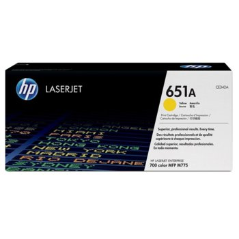 HP 651A (CE342A) Yellow product