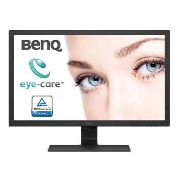 "Монитор BenQ BL2783 (9H.LJDLB.QBE), 27"" (68.58 cm) TN панел, Full HD, 1ms, 12 000 000:1, 300cd/m2, DisplayPort, HDMI, DVI, VGA image"
