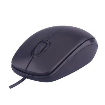 Мишка Makki MS-009, оптична, (1000 dpi), USB, черна image