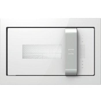 Микровълнова фурна Gorenje BM235ORAW, за вграждане, с грил, електронно управление, 900 W, 23 л. обем, 5 степени на мощност, бяла image