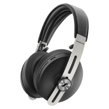Слушалки Sennheiser MOMENTUM 3 Wireless, безжични, Bluetooth, черни image