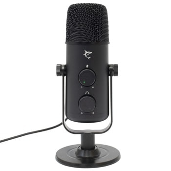 Микрофон SBOX WHITE SHARK NAGARA (DSM-02), USB, настолен, черен image