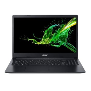 "Лаптоп Acer Aspire 3 A315-34-C2NL (NX.HE3EX.01P), четириядрен Gemini Lake Intel Celeron N4100 1.1/2.4 GHz, 15.6"" (39.62 cm) Full HD Anti-Glare Display, (HDMI), 4GB DDR4, 256GB SSD, 1x USB 3.1, Linux image"