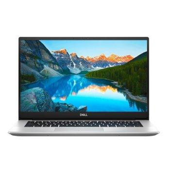 "Лаптоп Dell Inspiron 5490 (DI5490I54G512GBUHD_UBU-14)(сребрист), четириядрeн Comet Lake Intel Core i5-10210U 1.6/4.2 GHz, 14.0"" (35.56 cm) Full HD Anti-Glare Display, (HDMI), 4GB DDR4, 512GB SSD, 1x USB 3.1 Type C, Linux  image"