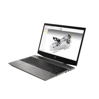 "Лаптоп HP ZBook 15V G5 (3JL52AV_70824092)(сив), шестядрен Coffee Lake Intel Core i7-8750H 2.2/4.1 GHz, 15.6"" (39.62 cm) Full HD Anti-glare Display & Quadro P600 4GB, (HDMI), 32GB DDR4, 512GB SSD & 2TB HDD, Windows 10 Pro image"