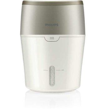 Овлажнител Philips HU4803/01, цифров сензор, NanoCloud технология, 2л. вместимост, 8 часа, време на работа, бял image