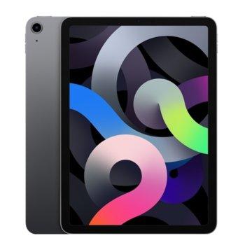 "Таблет Apple iPad Air 4 Wi-Fi (MYFT2HC/A)(сив), 10.9"" (27.69 cm) Retina дисплей, шестядрен A14 Bionic, 4GB RAM, 64GB Flash памет, 12.0 & 7.0 MPix камера, Ipad OS image"