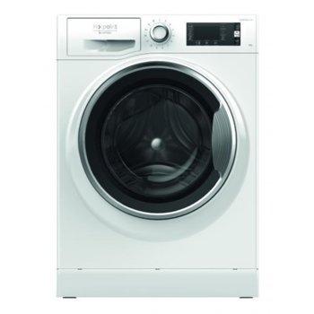 Перална машина Hotpoint-Ariston NLCCD 1047 WC AD, клас A+++, 10 кг. капацитет на пералня, 1400 оборота, свободностояща, 60cm. ширина, 17 програми, Стоп и добавяне, бяла image