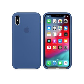 Apple iPhone XS Silicone Case - Delft Blue product