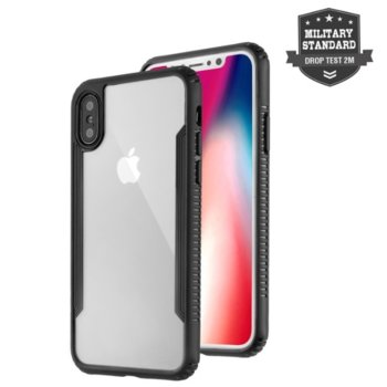 Калъф за iPhone X/XS, Premium KNOX, черен product