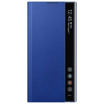 Калъф за Samsung Galaxy Note 10 Plus, Samsung Clear View Cover EF-ZN975CLEGWW, син image