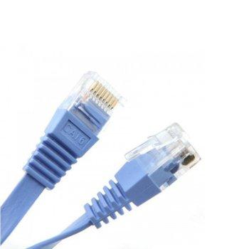 Пач кабел FTP, Cat 6 FLAT, 1.5 m image