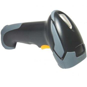 Баркод скенер BIRCH BS-115BU, 100 scan/sec, 10-60 cm растояние на сканиране, 1.8m, лазерен, USB, черен image