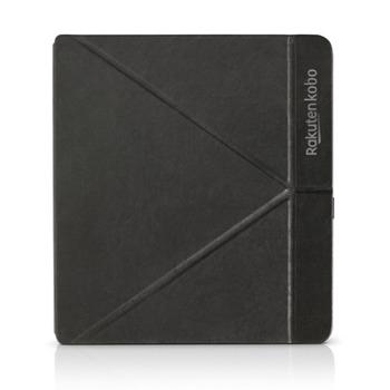 """Калъф за електронна книга Kobo Forma SleepCover 8"""" (20.32 cm), съвместим с електронна книга Kobo Forma, със стойка, черен image"""