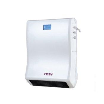 """Вентилаторна печка Tesy HL 246 VB W, за баня, 2000W, до 18 м2 отопляема площ, IP24, функция """"Отворен прозорец/врата"""", бяла image"""