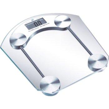 Електронен кантар Sapir SP 1650 D, автоматично вкл./икл., LCD дисплей, натоварване до 180 кг, възможност за избор на мерни единици (kg/lb) image