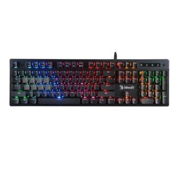 Клавиатура Bloody B500N, Mecha-Like Switch, геймърска, подсветка, черна image
