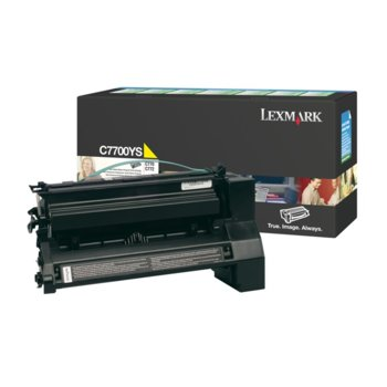 КАСЕТА ЗА LEXMARK C770/C772/X772 - High Yellow product
