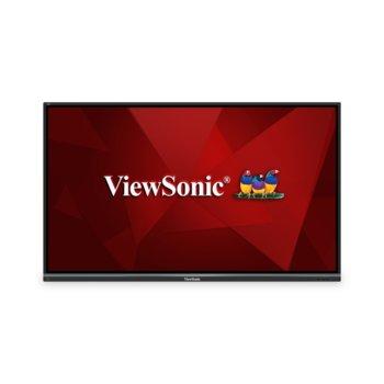"""Публичен дисплей ViewSonic IFP7550-2, тъч дисплей, 74.5"""" (189.2 cm) Ultra HD, HDMI, VGA, USB, RS232, RJ-45 image"""