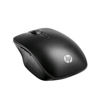 Мишка HP Bluetooth Travel Mouse, безжична ,оптична (1200 dpi), Bluetooth, черна image