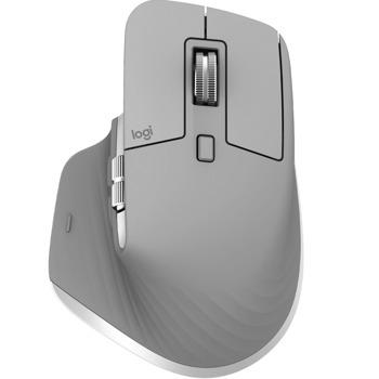 Мишка Logitech MX Master 3 (910-005695), оптична (1000 dpi), безжична, USB/Bluetooth, сива image