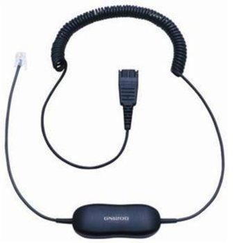 Свързващ кабел Jabra Smart Cord, QD to RJ10, за STD слушалки  image