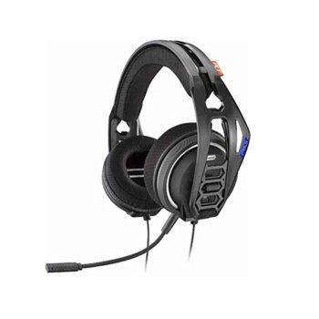 Слушалки Plantronics RIG 400HS, сваляем микрофон, гейминг, 20-22000 Hz, бързи бутони, проектирани за PlayStation 4, черни image