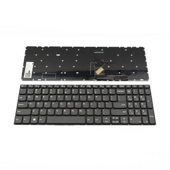 Клавиатура за Lenovo 5000 Ideapad 320-15, US, без рамка, сива image