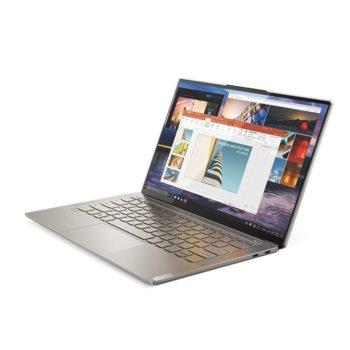 "Лаптоп Lenovo Yoga S940-14IIL (81Q80014BM)(златист), четириядрен Ice Lake Intel Core i7-1065G7 1.3/3.9 GHz, 14.0"" (35.56 cm) 4K/UHD HDR IPS Glossy Dolby Vision Display, (Thunderbolt), 16GB, 1TB SSD, 2x Thunderbolt, Windows 10 Home  image"