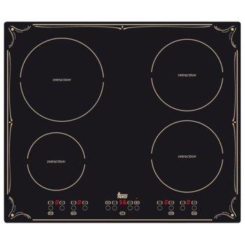 Стъклокерамичен плот за вграждане Teka IBR 6040, 4 нагревателни зони, автоматично изключване за безопастност, независимо програмиране на всяка зона, индикатор за остатъчна топлина, детектор за подходящи готварски съдове, черен image