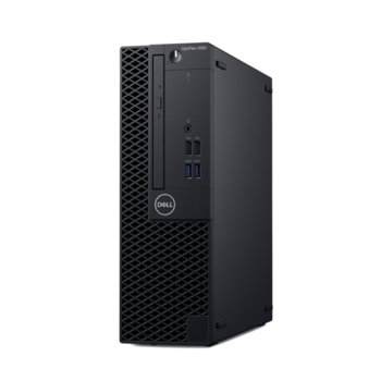 Настолен компютър Dell OptiPlex 3060 SFF (#DELL02511), четириядрен Coffee Lake Intel Core i3-8100 3.60 GHz, 8GB DDR4, 256GB SSD, 4x USB 3.1, клавиатура и мишка, Windows 10 Pro  image