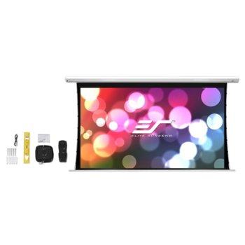"""Екран Elite Screens Electric125XHT Spectrum Tension, 125"""" (317.5cm)/276.9x155.7cm, за стена image"""