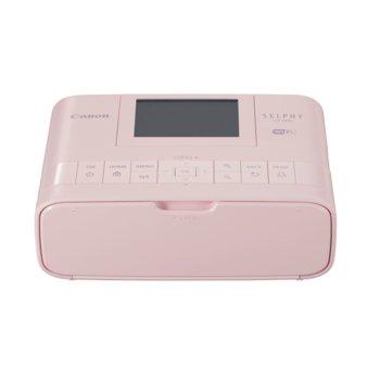 """Мобилен принтер Canon SELPHY CP1300(розов), цветен термосублимационен фотопринтер, 300x300 dpi, 3.2"""" (8.12cm) цветен TFT дисплей, Wi-Fi, SDXC слот, miniUSB Type B, пощенска картичка 148x100mm image"""