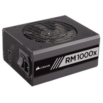 Захранване Corsair RMx Series RM1000x, 1000W, Active PFC, 80 Plus Gold, изцяло модулно, 135mm вентилатор image