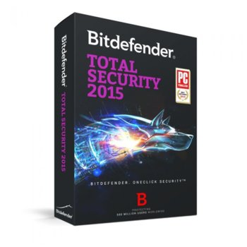 Bitdefender Total Security 2015 10PC 3Y product